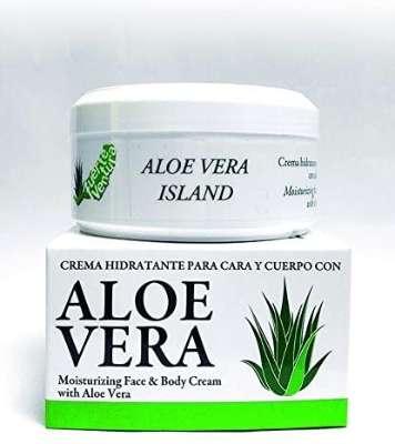 Aloe Vera Feuchtigkeitsspendende Creme für Gesicht und Körper mit Aloe Vera - 200 ml