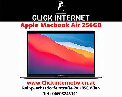 Apple MacBook Air with Apple M1 chip (13 inch, 8GB RAM) / Silber / Mit Voller Hersteller Garantie Dabei