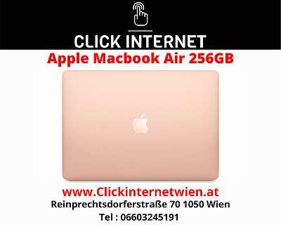 Apple MacBook Air with Apple M1 chip (13 inch, 8GB RAM) / Gold / Mit Voller Hersteller Garantie Dabei