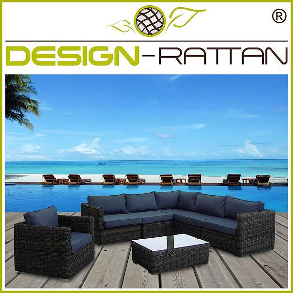 rattanlounge lawang bali exklusiv 225x225cm oder 160x290cm rundrattan by design rattan. Black Bedroom Furniture Sets. Home Design Ideas