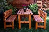 Gartenmöbel RUSTIK für 6 Personen