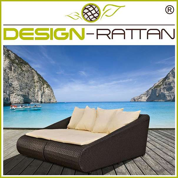 rattanliege double daybed premium hotel line 599 1010 wien willhaben. Black Bedroom Furniture Sets. Home Design Ideas