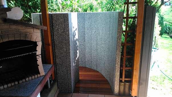 Granit Saule Granit Pfosten Granit Zaun Palisaden Gartenzaun 40
