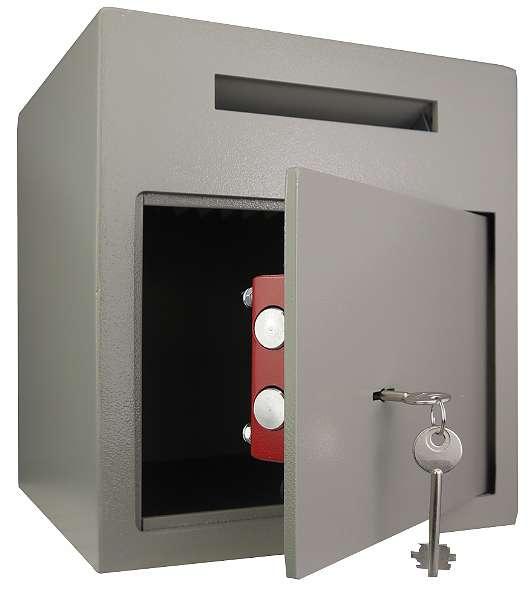 einwurftresor deposittresor tresor mit einwurfschlitz schl sselschloss 159 90 8200. Black Bedroom Furniture Sets. Home Design Ideas