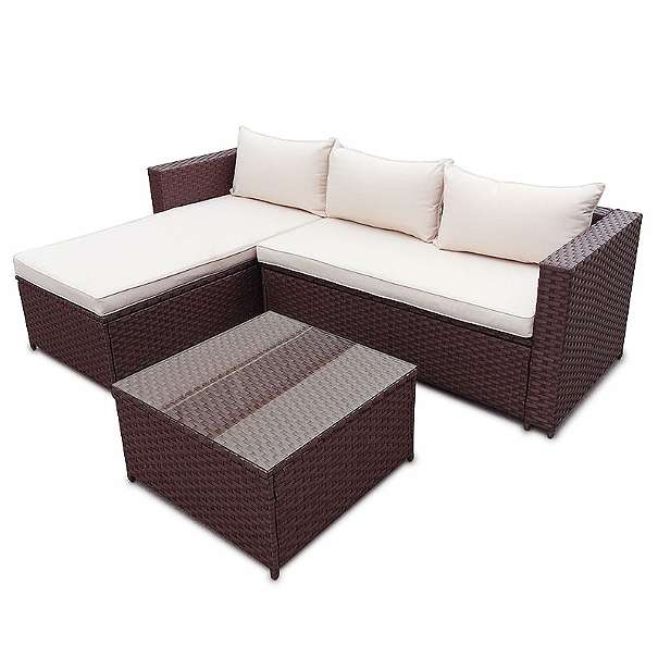 Beautiful Poly Rattan Garten Lounge Gartenset Braun Garnitur Polyrattan  Gartenmbel Neu Model Clic With Gartenmbel Braun