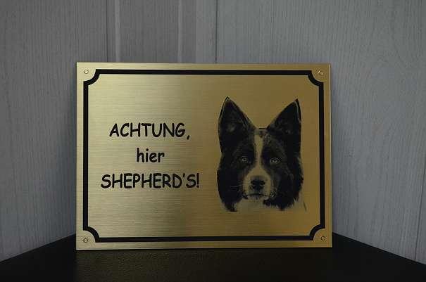 Hunde Warnschilder Hinweisschilder Schilder Tierschilder ...