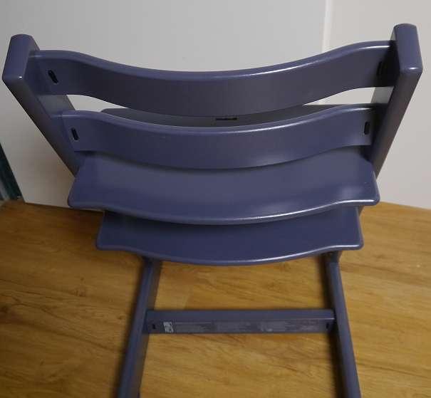 stokke tripp trapp hochstuhl blau grau dunkel blau wie. Black Bedroom Furniture Sets. Home Design Ideas