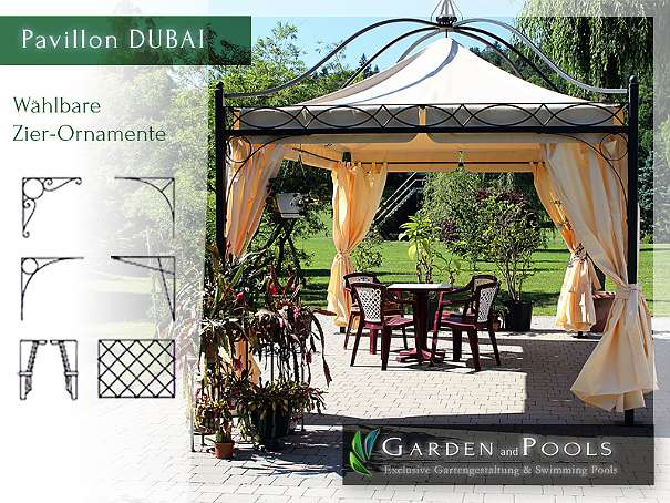 pavillon rechteckig partyzelt metallpavillon pavillion gartenlaube gazebo dubai. Black Bedroom Furniture Sets. Home Design Ideas