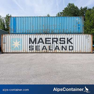 Gebrauchte 40ft Seecontainer / Lagercontainer