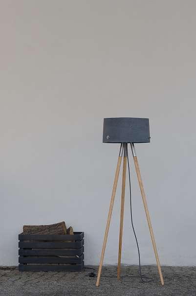 beton stehlampe talma beton tischlampe talma beton. Black Bedroom Furniture Sets. Home Design Ideas