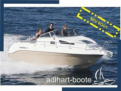 Drago 660 S Kabine mit WC-Raum Elektroboot Motorboot Kabinenmotorboot Drago 660 Sport