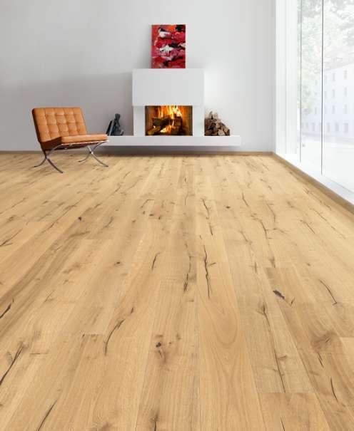 wiho parkett parkettboden landhausdiele winzereiche strukturiert uv natur ge lt 27 90. Black Bedroom Furniture Sets. Home Design Ideas