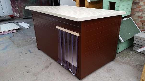 hundeh tte isoliert mit dach zum ffnen neu 175 1222 ungarn willhaben. Black Bedroom Furniture Sets. Home Design Ideas