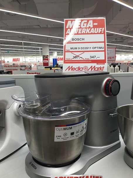 Küchenmaschine Bosch MUM 9 D33S11, € 347,- (4910 Ried im Innkreis ...