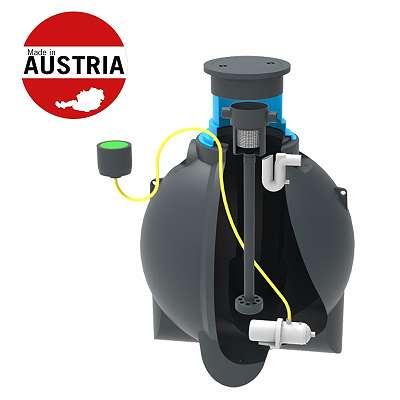 REGENWASSERTANKS / KOMPLETTSET 2200 - 12400 Liter -Neuware-direkt vom österr. Hersteller