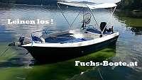 420 Deluxe Angelboot Motorboot Fischerboot Familienboot Badeboot Ruderboot Boot GFK Boot 420 Deluxe Boot Fuchs Boot