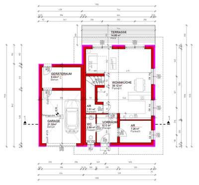 grund und ziegel massiv haus nur 11 zugminuten bis wien um nur 944 pro monat ohne. Black Bedroom Furniture Sets. Home Design Ideas