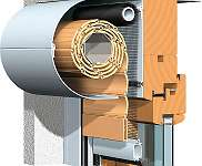 Kombi Rollkasten mit Insektenschutzrollo