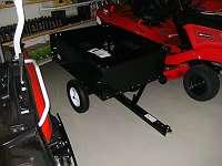 Anhänger für Rasentraktor neu 97 x 77 cm-Kipper. selbstabholung jederzeit möglich.