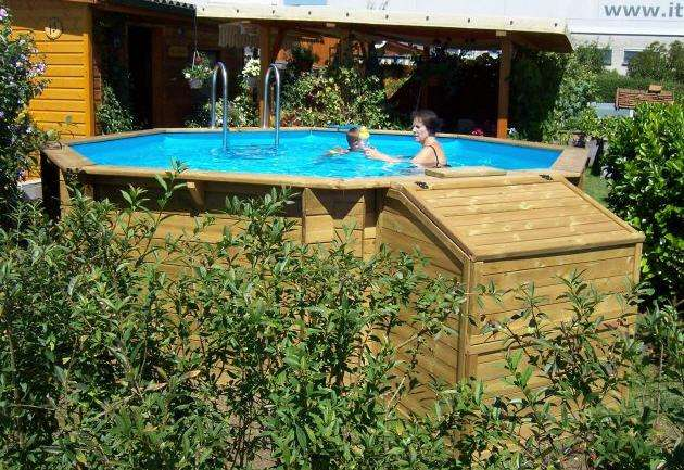 holzpool swimming pool aus holz 4030 linz willhaben. Black Bedroom Furniture Sets. Home Design Ideas