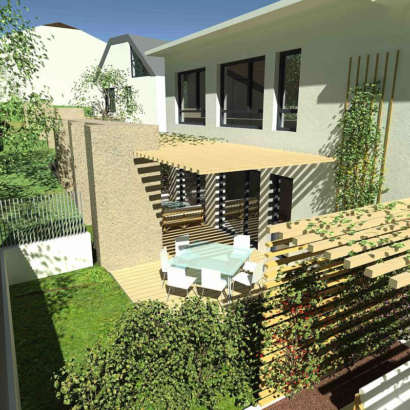 Giesshübl Am Perlhof Moderne 4 Zimmer Designer Doppelhaushälfte
