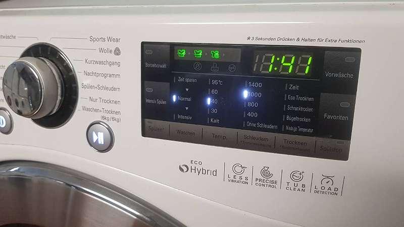 Waschtrockner waschmaschine und trockner in einem