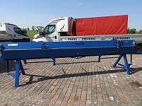 Biegemaschine 4m mit Rollenschere Abkantbank Schwenkbiegemaschine AbkantmaschineNEU
