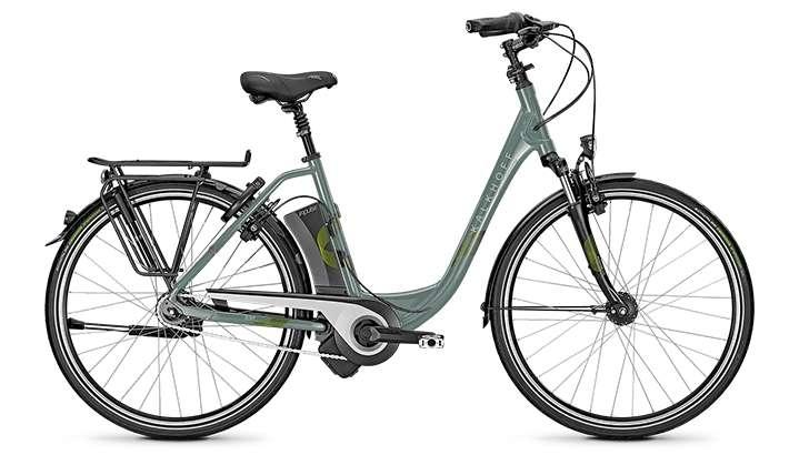 E-Citybike Kalkhoff TASMAN IMPULSE 8R HS, 14,5AH - VORFÜHRRAD