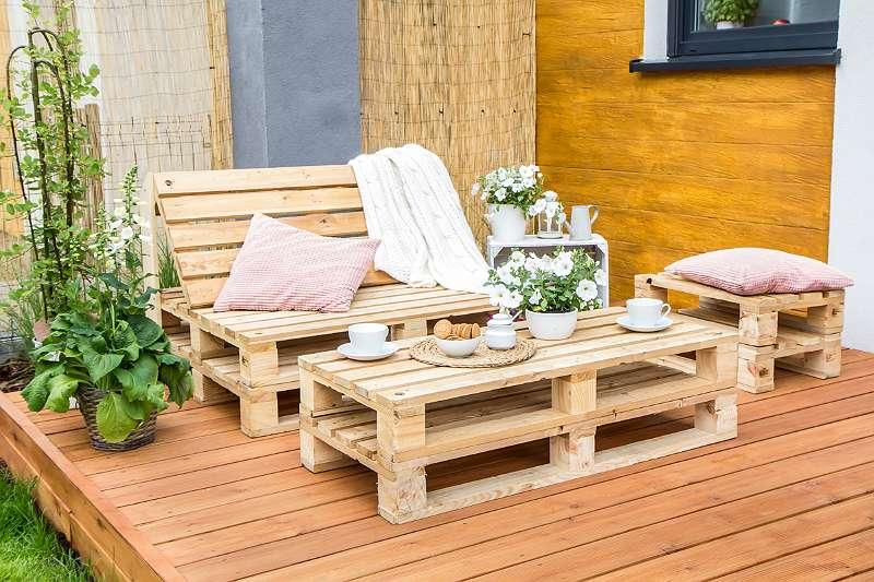 Möbel Set Aus Europalette Gartenmöbel Loungemöbel