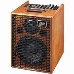Acus One-8 Wood - Verstärker mit eingebautem Mischpult für akustische Gitarre, Gesang und andere akustische Instrumente - 2 Jahre Garantie! - NEU