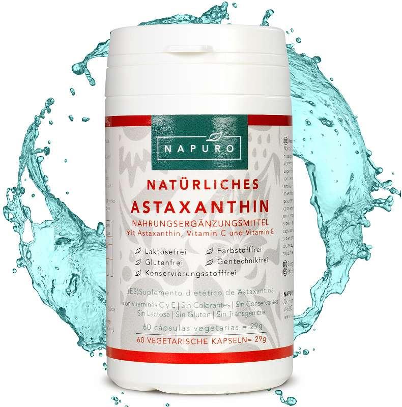 Astaxanthin Starkste Antiaging Antioxidanz Der Welt Staker Wie Opc
