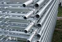 50 x Rahmen Set Typ Plettacgerüst Plettac Gerüstbau Stahlramen Stahlböden Gerüst
