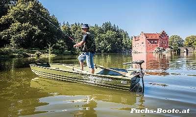 Aluboot Aluminium Boot Alu Boot Jon Boot Marine Fuchs Boot Jon 10 Fischerboot Ziller Angelboot Ruderboot Motorboot