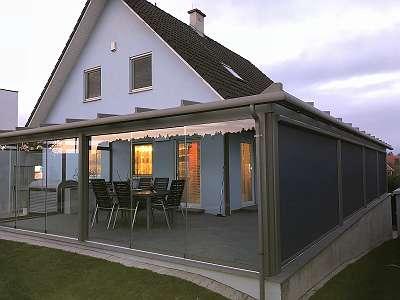 Sommergarten / Wintergarten / Terrassenüberdachungen - ALUMINIUM