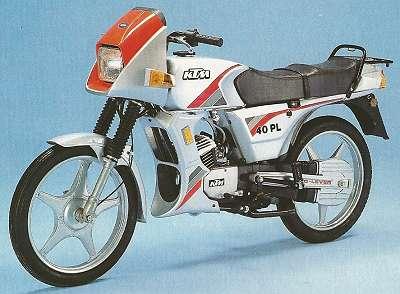 KTM PL 40 * Aufklebersatz komplett