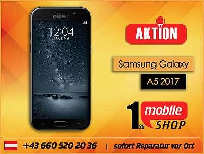 Samsung Galaxy A5 2017 - GEBRAUCHT - mit Garantie - Werksoffen #Schwarz
