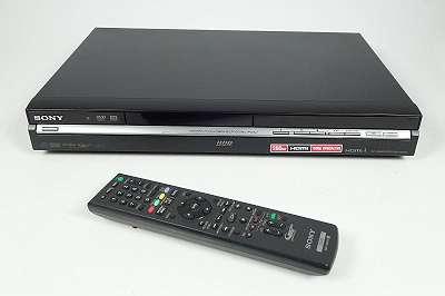 SONY RDR-HX950 DVD RECORDER + FB 250 GB FESTPLATTE MIT BEDIENUNGSANLEITUNG MIT HDMI AUSGANG -