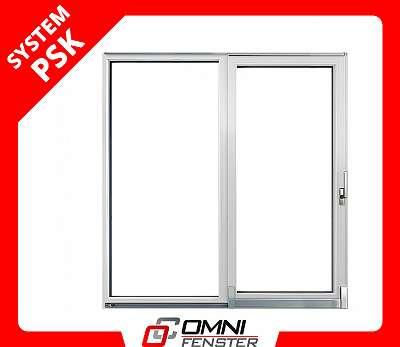 Schiebetür Balkontür auf Maß Schiebe Fenster Terrassentür 2800 x 2100 mm Kunststoff Tür Kunststofffenster
