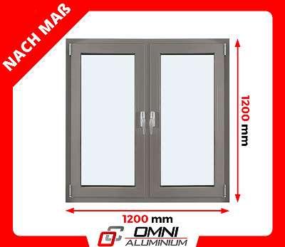 Aluminium Fenster Alu Fenster auf Maß Fenster für Haus Halle Büro Ladenfenster aus Polen