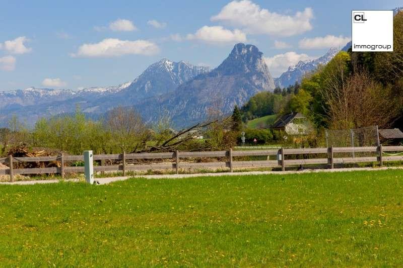 !! RARITÄT !! - Seegrundstück in traumhaft sonniger Naturlage direkt am Wolfgangsee!