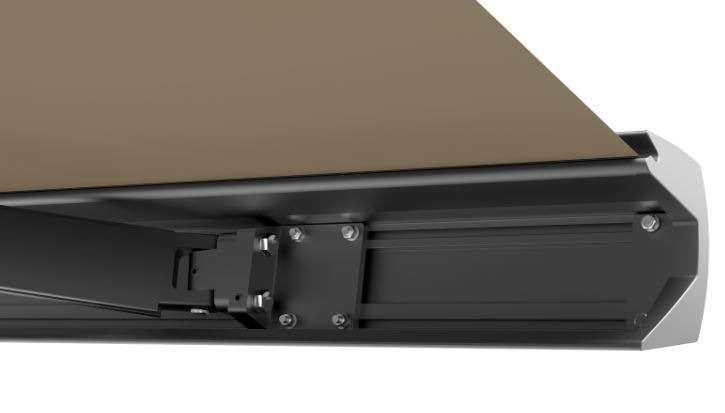 Vollkassettenmarkise 450 x 300 cm sand mit Motor Sonnenschutz Terrasse Gelenkarmmarkise Markise elektronisch mit Funkfernbedienung VASP1310