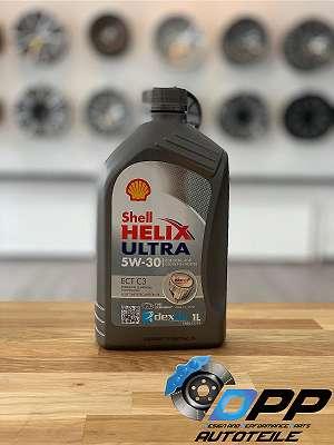 SHELL Helix Ultra 5W-30 1Liter Flasche Motoröl