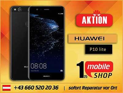 Huawei P10 lite - NEUWERTIG - mit Garantie - Werksoffen - Schwarz