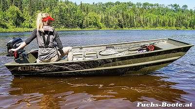 Alumacraft Jon1036 1036 Aluboot Aluminium Boot Alu Boot Jon Boot Marine Fuchs Boot Jon 10 Fischerboot Ziller Angelboot Ruderboot Motorboot