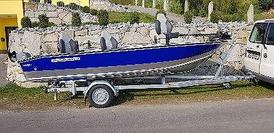 500 F Fish Aluboot Aluminiumboot Marine Boote Fischerboot Angelboot Ruderboot Fuchs-Boote