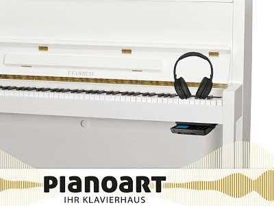 FEURICH 115 SILENT-Klavier NEU *Sommerklänge by Pianoart*