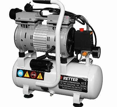 Kompressor Flüster Druckluft Öl frei Luftkompressor Druckluft Kompressor 550W !