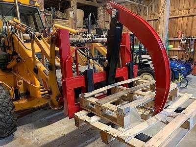 NIEDERHALTER - HOLZGREIFER - Palletengabel Greifer TRANSPOR für Holz