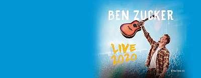 BEN ZUCKER 21.11.2020 Wiener Stadthalle 20:00 Ur * Topsitzplätze