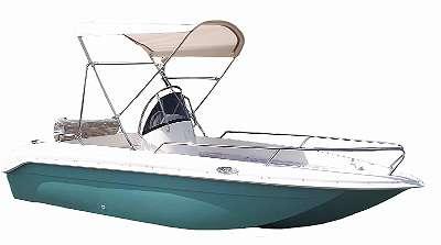 Motorboot Texas 430, Freizeitboot, Fischerboot, Angelboot,